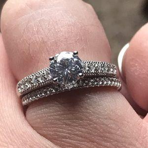 Kay size 6.75 engagement set
